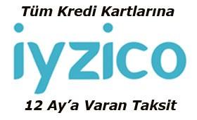 iyzico 2-3-6-9-12 Taksit Seçeneği