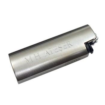 İsme Özel Metal Clipper Çakmak Mat