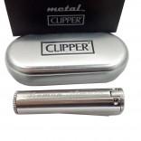 İsme Özel Mat Metal Clipper Çakmak Metal Kutulu
