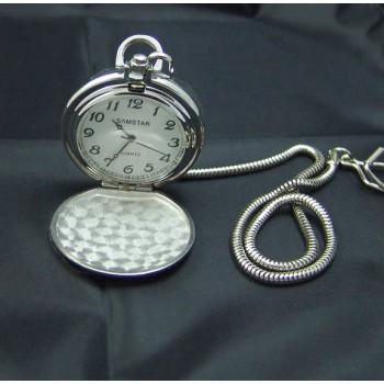 İsim Yazılan KÜÇÜK ÖLÇÜ Mat Metal Köstekli Cep Saati