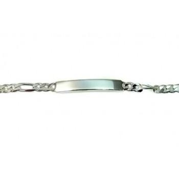 İsme Özel Gümüş Bileklik künye Unisex 3