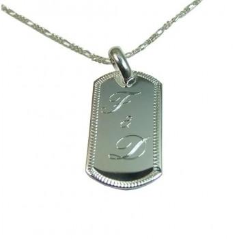 İsim Yazılı 925 Ayar Gümüş  Kolye