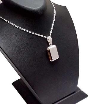 Kişiye Özel Yazılı Gümüş içine Resim konulan kolye