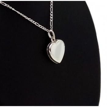 Kalp modeli harf yazılabilen 925 ayar gümüş kolye
