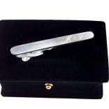 İsme ve Kişiye Özel 925 Ayar MAT Gümüş Kravat İğnesi