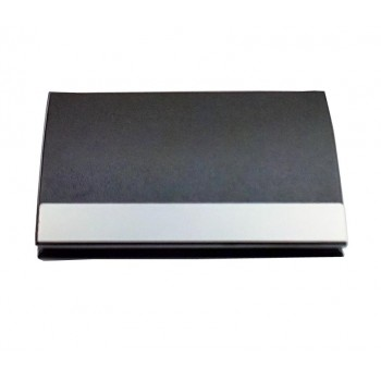 İsme Özel Siyah Renk Lüx Deri Kartvizitlik *14