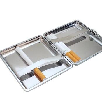 İsme Özel Sigara Tabakası Mat Metal 20