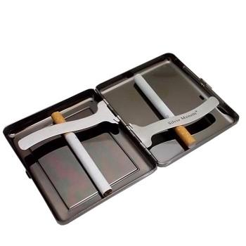 İsme Özel Siyah Karartma Metal Sigara Tabakası