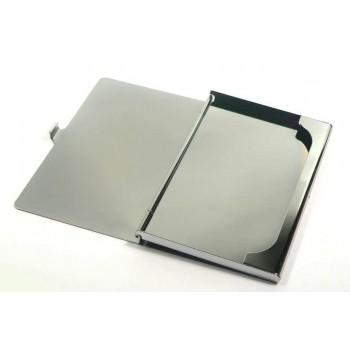 İsme Özel Metal Sade Düz Model Kartvizitlik