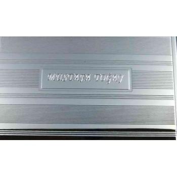 Kişiye Özel Sigaralık  Parlak Nikel Kaplama Metal mtsg01